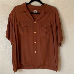 Vintage Button Up Shirt.